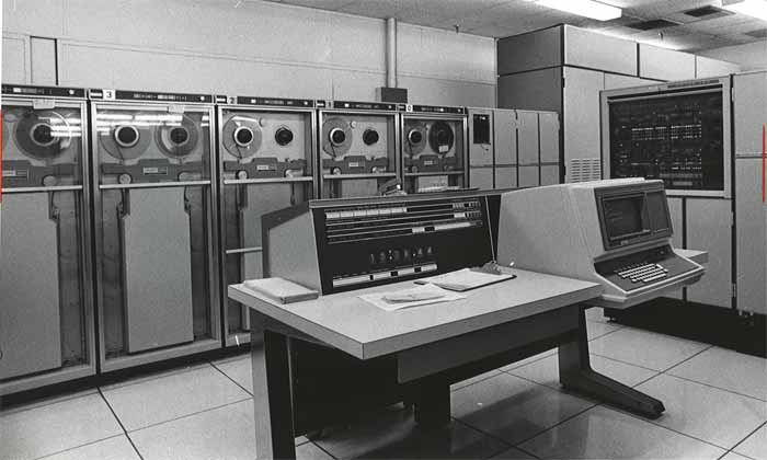 60's computers before DNS